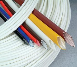 Silicone coated fiberglass sleeving