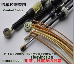 Teflon Tube Car Cable High Temp