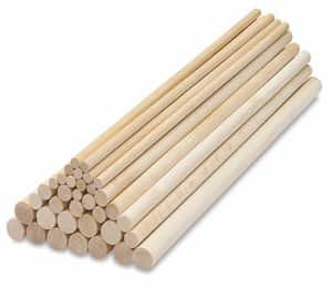 Wood Dowels ,Coffin stick,Beech rods